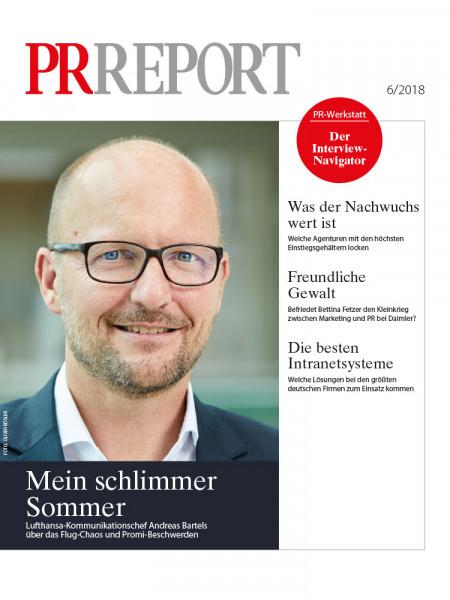PR Report:Mein schlimmer Sommer  Lufthansa-Kommunikationschef Andreas Bartels über das Flug-Chaos und Promi-Beschwerden