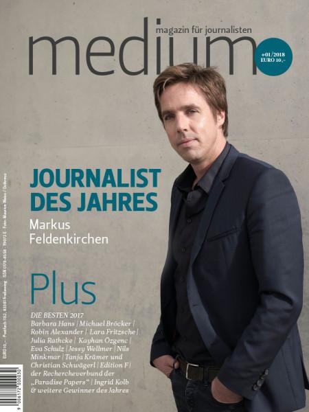 """medium magazin: """"Journalist des Jahres"""" Markus Feldenkirchen"""