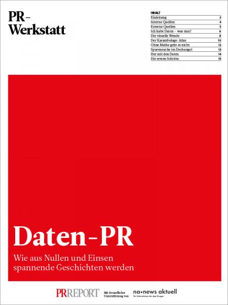 PR-Werkstatt: Daten-PR