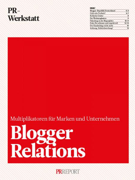 Blogger Relations: Multiplikatoren für Marken und Unternehmen, PR-Werkstatt, Djure Meinen
