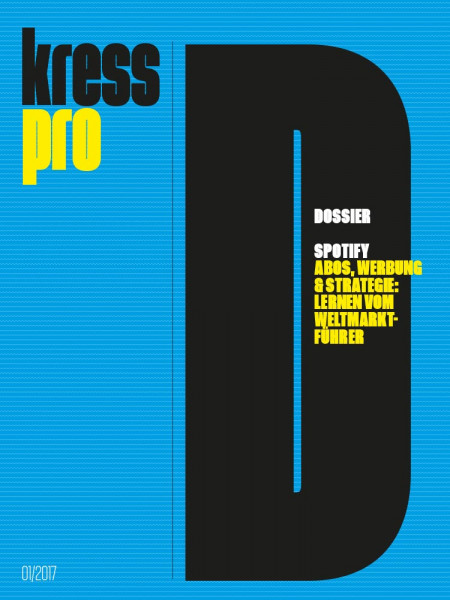 kress pro Dossier Spotify: Abos, Werbung und Strategie: Lernen vom Weltmarktführer