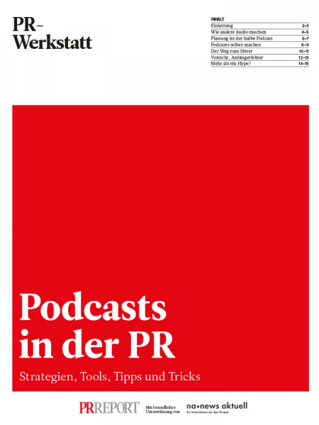 Podcasts in der PR