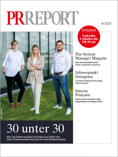 PR Report 04/2020, 30 unter 30