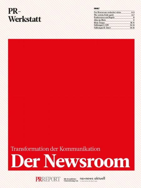 Der Newsroom: Transformation der Kommunikation, PR-Werkstatt, Christoph Moss