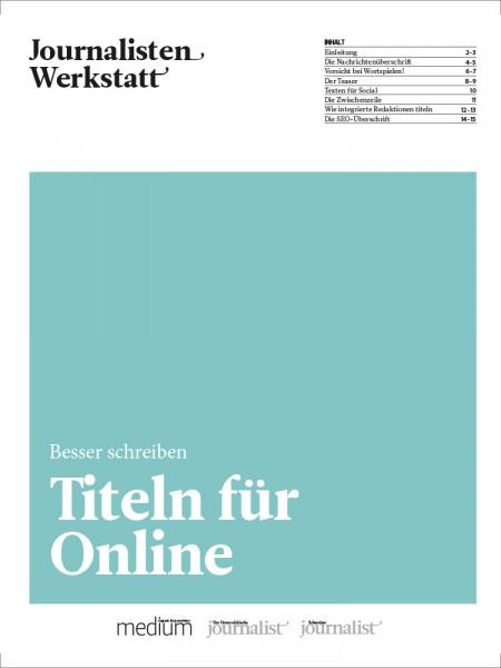 Titeln für Online