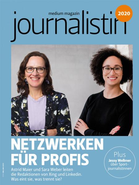 journalistin 2020 - Netzwerken für Profis