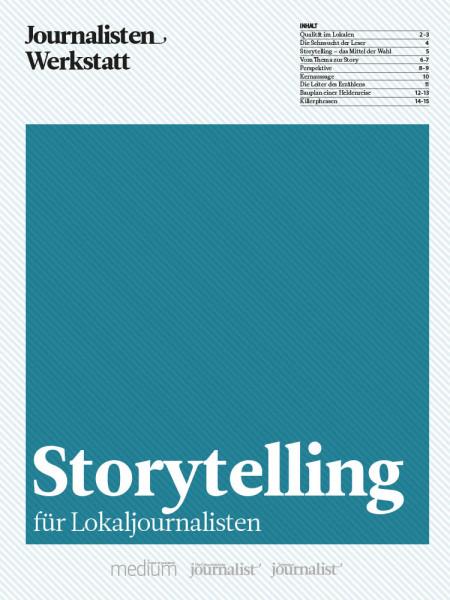 Journalisten Werkstatt Storytelling für Lokaljournalisten, Marie Lampert