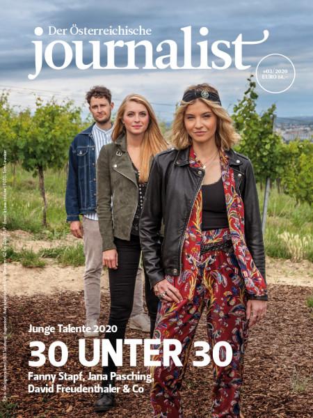 Der Österreichische Journalist, 30 unter 30