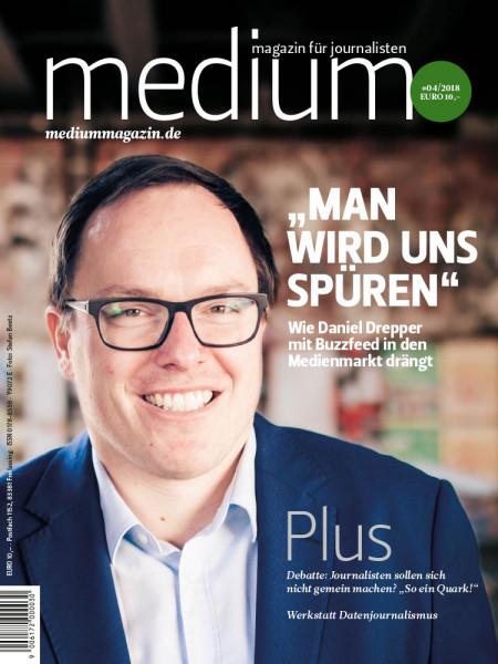"""medium magazin: """"Man wird uns spüren""""  Wie Daniel Drepper mit Buzzfed in den Medienmarkt drängt"""