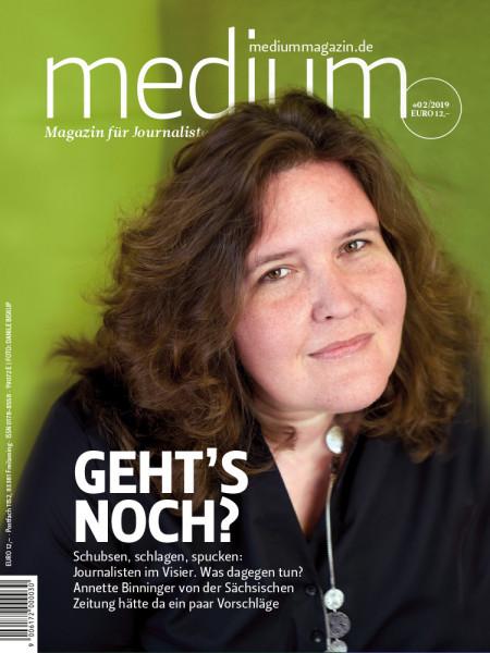 Medium Magazin: Geht`s noch? Annette Binninger