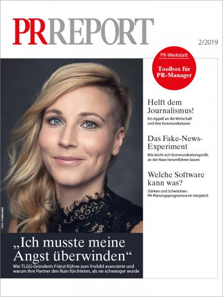 PR Report, TLGG-Gründerin Fränzi Kühne