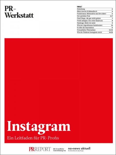 Instagram: Ein Leitfaden für PR-Profis, PR-Werkstatt, Stephanie Tönjes