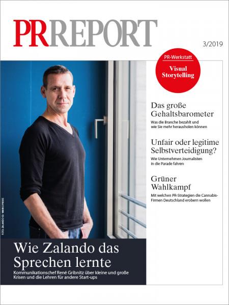 PR Report, Kommunikationschef Zalando, René Gribnitz