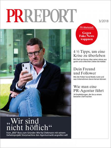 PR Report, Gründer Kai Diekmann