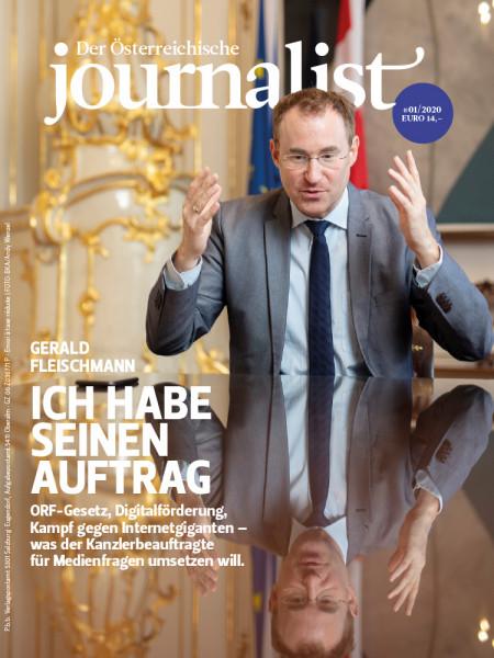Der Österreichische Journalist, Gerald Fleischmann: Ich habe seinen Auftrag