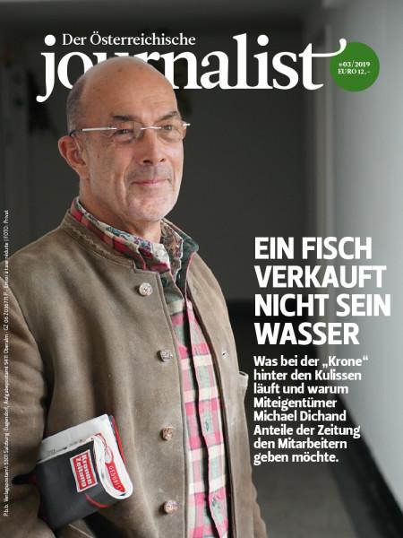Der Österreichische Journalist, Krone Miteigentümer Michael Dichand