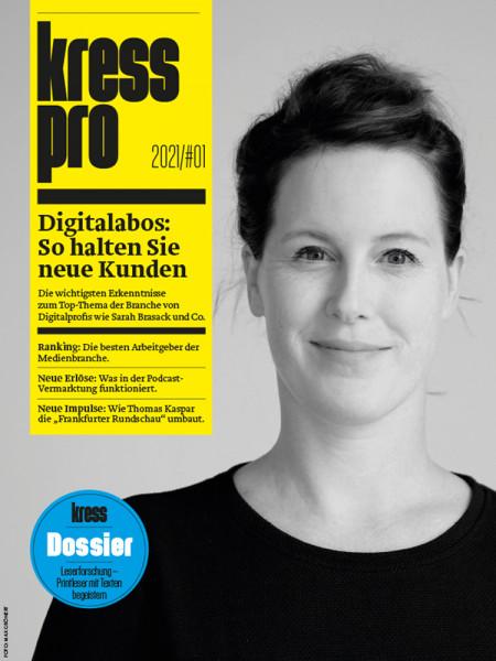 kress pro 2021/01: Digitalabos - so halten Sie neue Kunden.