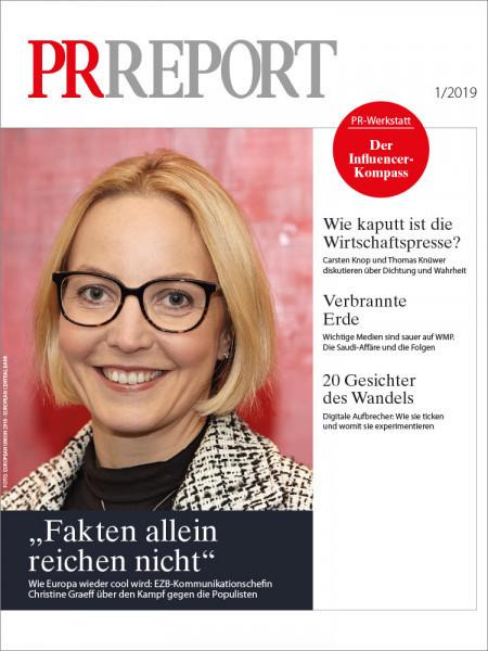 PR Report, EZB-Kommunikationschefin Christine Graeff