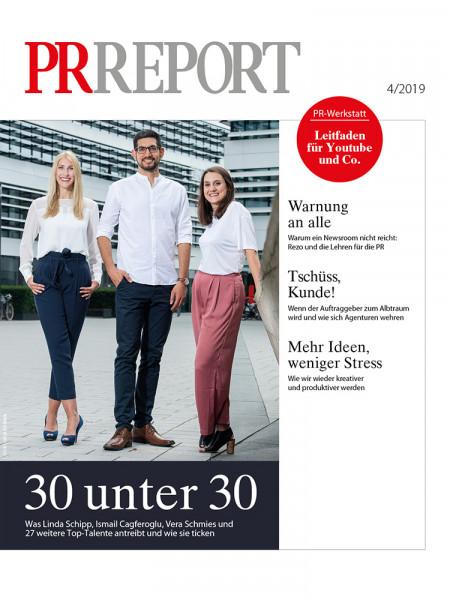 PR Report, 30 unter 30