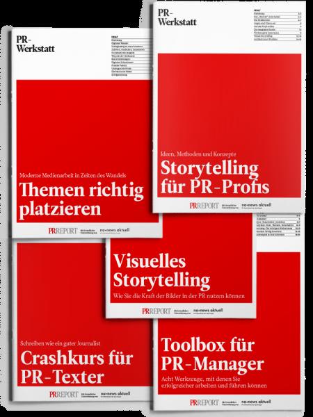 PR-Werkstatt Paket 4 - Leitfaden für PR