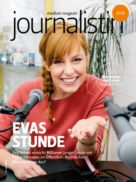 medium magazin journalistin 2019
