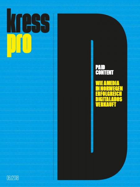 kress pro Dossier: Paid Content Wie Amedia in Norwegen erfolgreich Digitalabos verkauft.