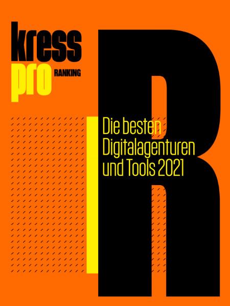 kress pro-Ranking: Die besten Digitalagenturen und Tools 2021