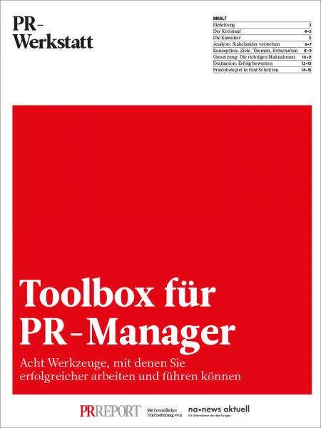 Toolbox für PR-Manager I