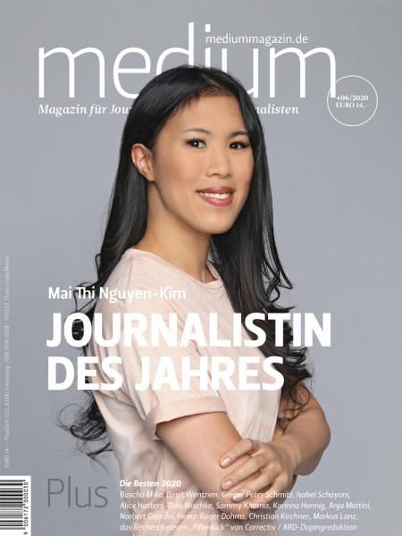 medium magazin 2020 Nr. 6: Journalistin des Jahres Mai Thi Nguyen-Kim