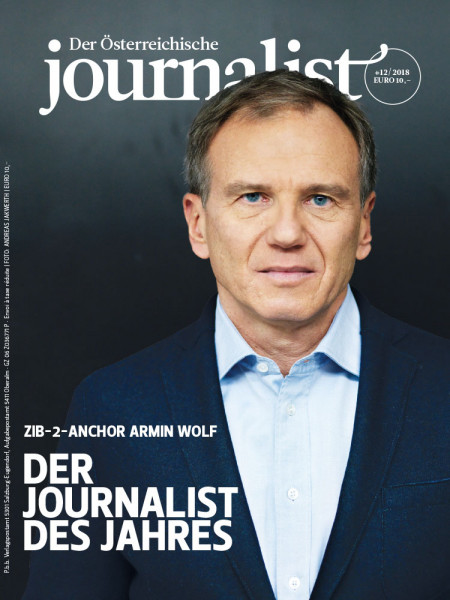 Der Österreichische Journalist: Wie Journalist des Jahres Armin Wolf seine Eitelkeit abarbeitet