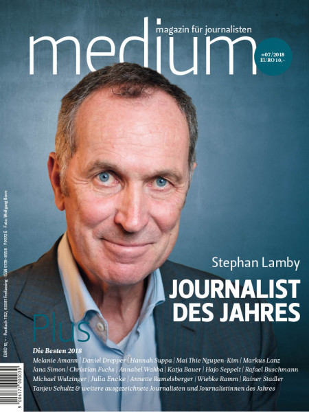 medium magazin: Journalist des Jahres  Stephan Lamby