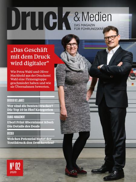 2020#02, Druck & Medien, Das Geschäft mit dem Druck wird digitaler.