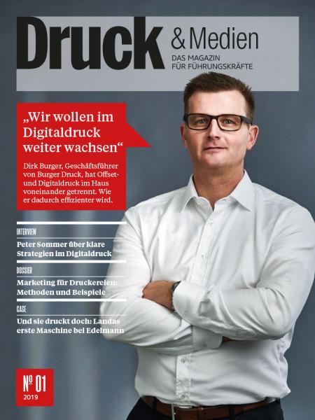 """Druck & Medien: """"Wir wollen im Digitaldruck weiter wachsen""""  Dirk Burger, Geschäftsführer von Burger Druck"""