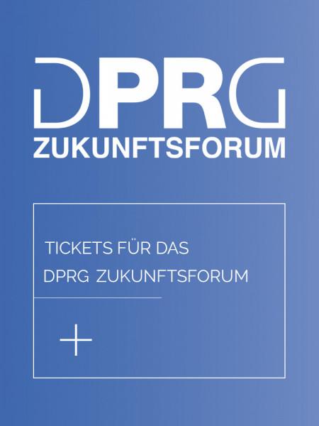 DPRG Zukunftsforum 2020 Hamburg Ticket