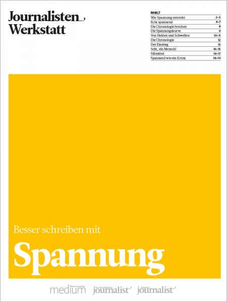 Journalisten Werkstatt: Spannung, Marie Lampert