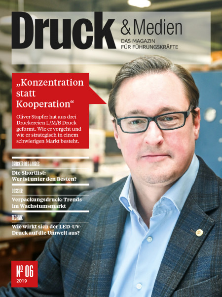 Druck & Medien, 2019#06, Konzentration statt Kooperation