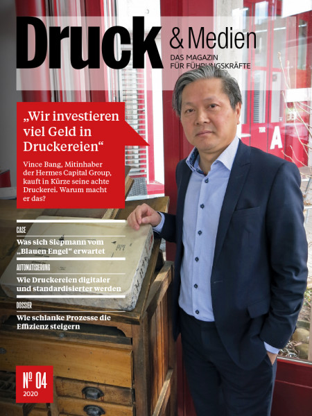 Druck & Medien 4, Vince Bang, Hermes Capital Group