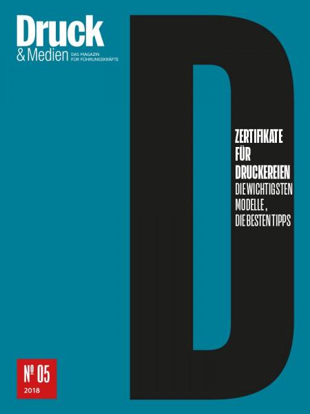 Druck & Medien-Dossier: Vernetzung Wie Drucker Print 4.0 umsetzen können