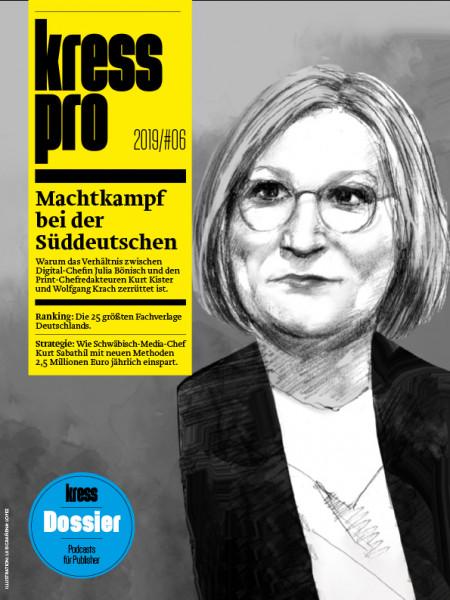 kress pro, Machtkampf bei der Süddeutschen Zeitung