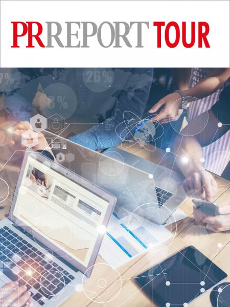 PR Report Tour Muenchen: Daten-PR und Newsroom