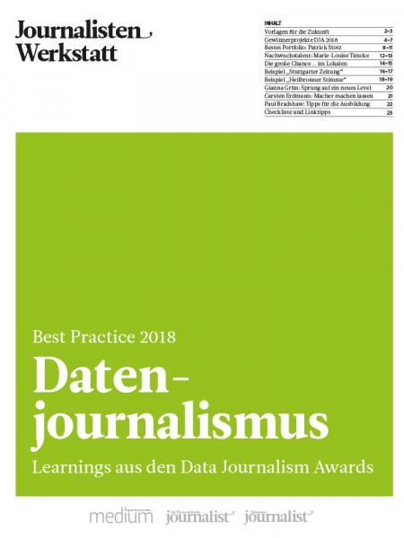 Datenjournalismus: Learnings aus den Data Journalism Awards, Journalisten Werkstatt, Mirko Lorenz