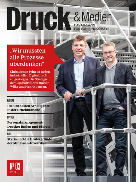 Druck und Medien, Christiansen Print, Rainer Wilke, Henrik Jensen