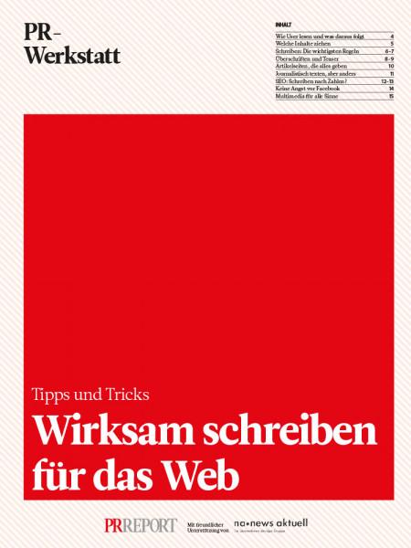 Wirksam schreiben für das Web: Tipps und Tricks, PR-Werkstatt, Udo Taublitz