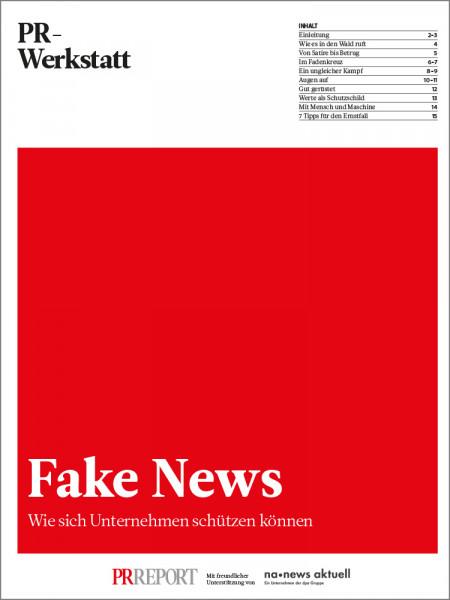 Fake News: Wie sich Unternehmen schützen können, PR-Werkstatt, Christiane Schulz