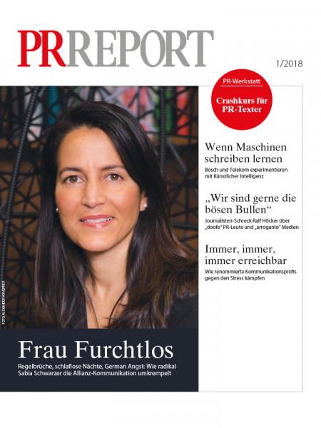 PR-Report: Frau Furchtlos  Regelbrüche, verunsicherte Mitarbeiter, German Angst: Wie radikal Sabia Schwarzer die Allianz-Kommunikation umkrempelt.