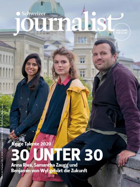 Der Schweizer Journalist 03/2020, 30 unter 30