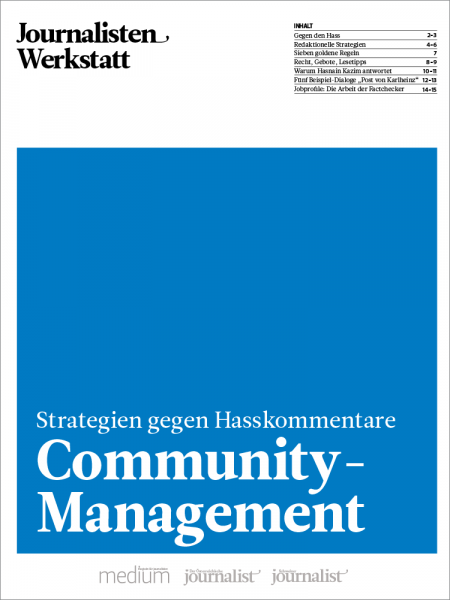 Journalisten Werkstatt: Community-Management, Daniel Bouhs, Anne Haeming