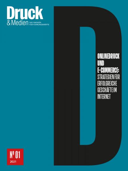 Druck & Medien Dossier Onlinedruck und E-Commerce