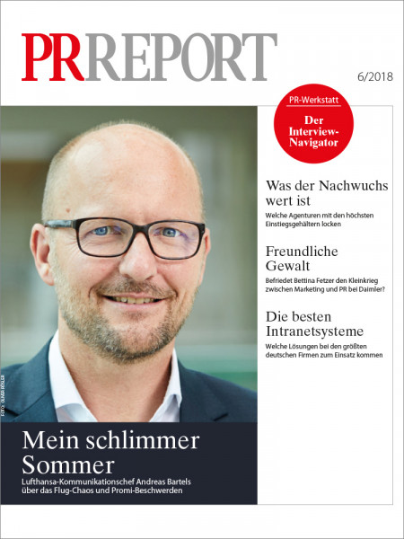 PR Report, Lufthansa-Kommunikationschef Andreas Bartels