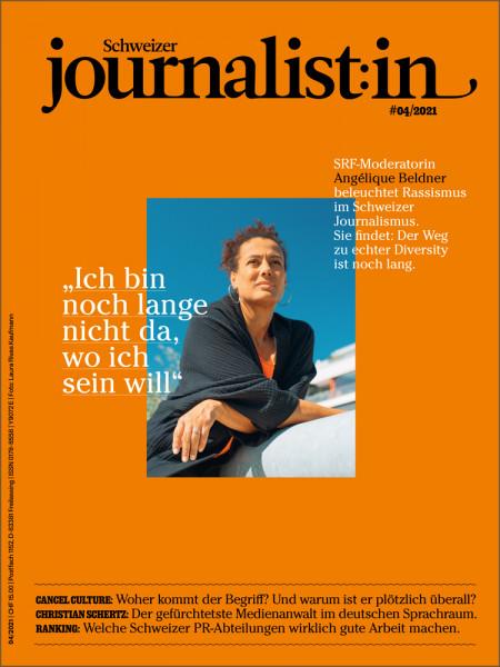 """Schweizer journalist:in 2021/04: """"Ich bin noch lange nicht da, wo ich sein will"""""""